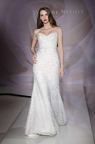 Twilight от Suzanne Neville свадебное платье