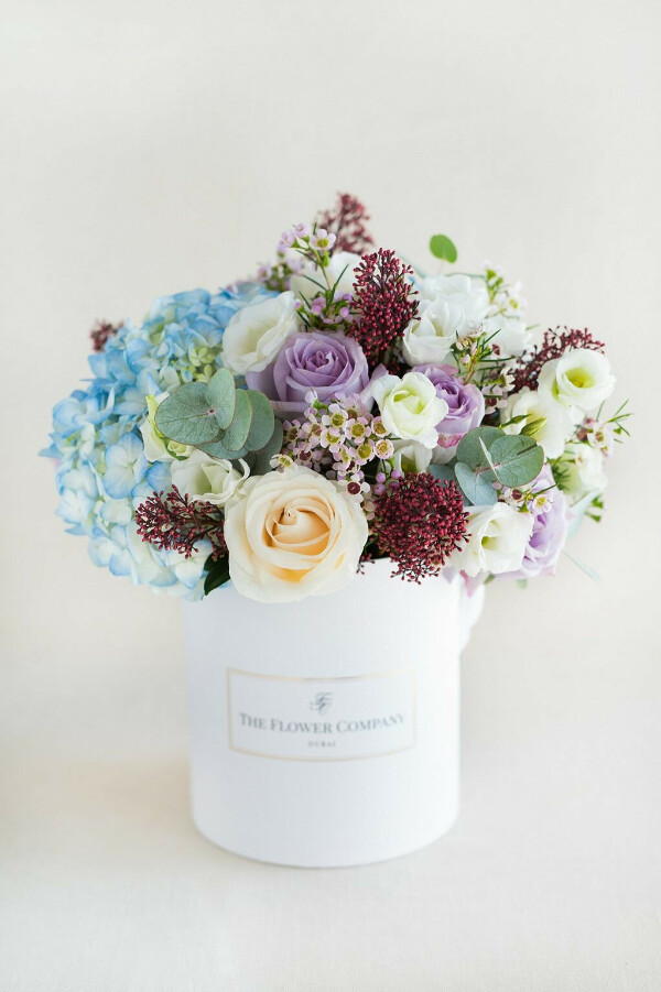 Floral Love Round Box