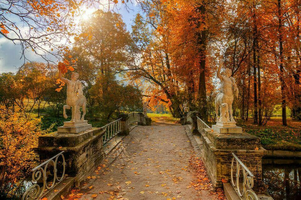 Поездка в Санкт-Петербург теплой осенью