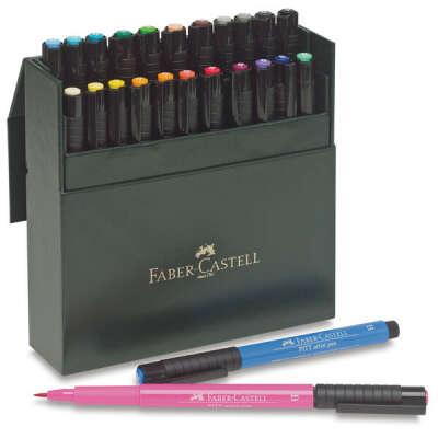 Ручки-кисточки Pitt в наборе Faber-Castell