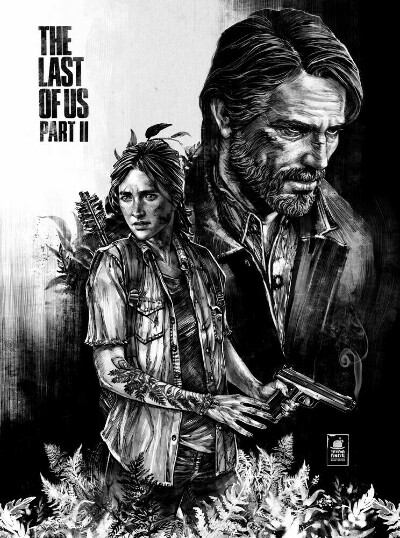 постер с last of us