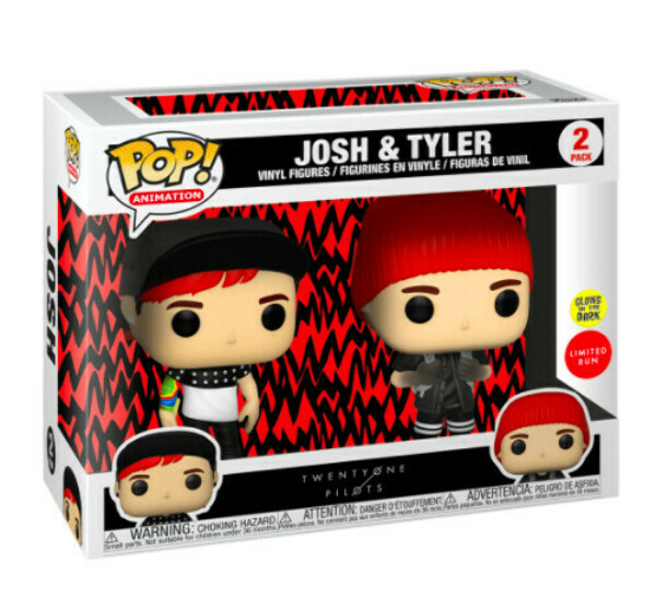 FUNKO POP! ROCKS: STRESSED OUT 2 PACK