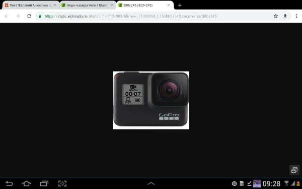 Экшн-камера GoPro Hero 7