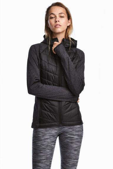 Куртка для бега утепленная/жилет
