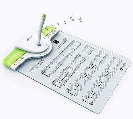 Устройство, записывающее то, что вы напеваете, и выдающее это в виде нот, и наоборот - вы записываете, устройство воспроизводит.