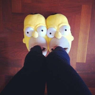 Хочу такие тапочки:)