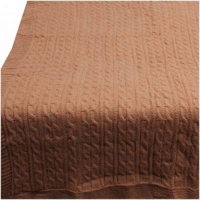 Вязаный шерстяной плед Buenas Noches, 150 х 200 см