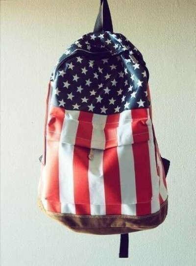 Рюкзак з американським прапором
