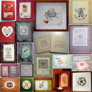много красивых открыток для посткроссинга, разных или набор