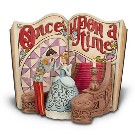 Cinderella Story Book Figurine
