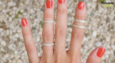 Кольцо на верхнюю фалангу пальца