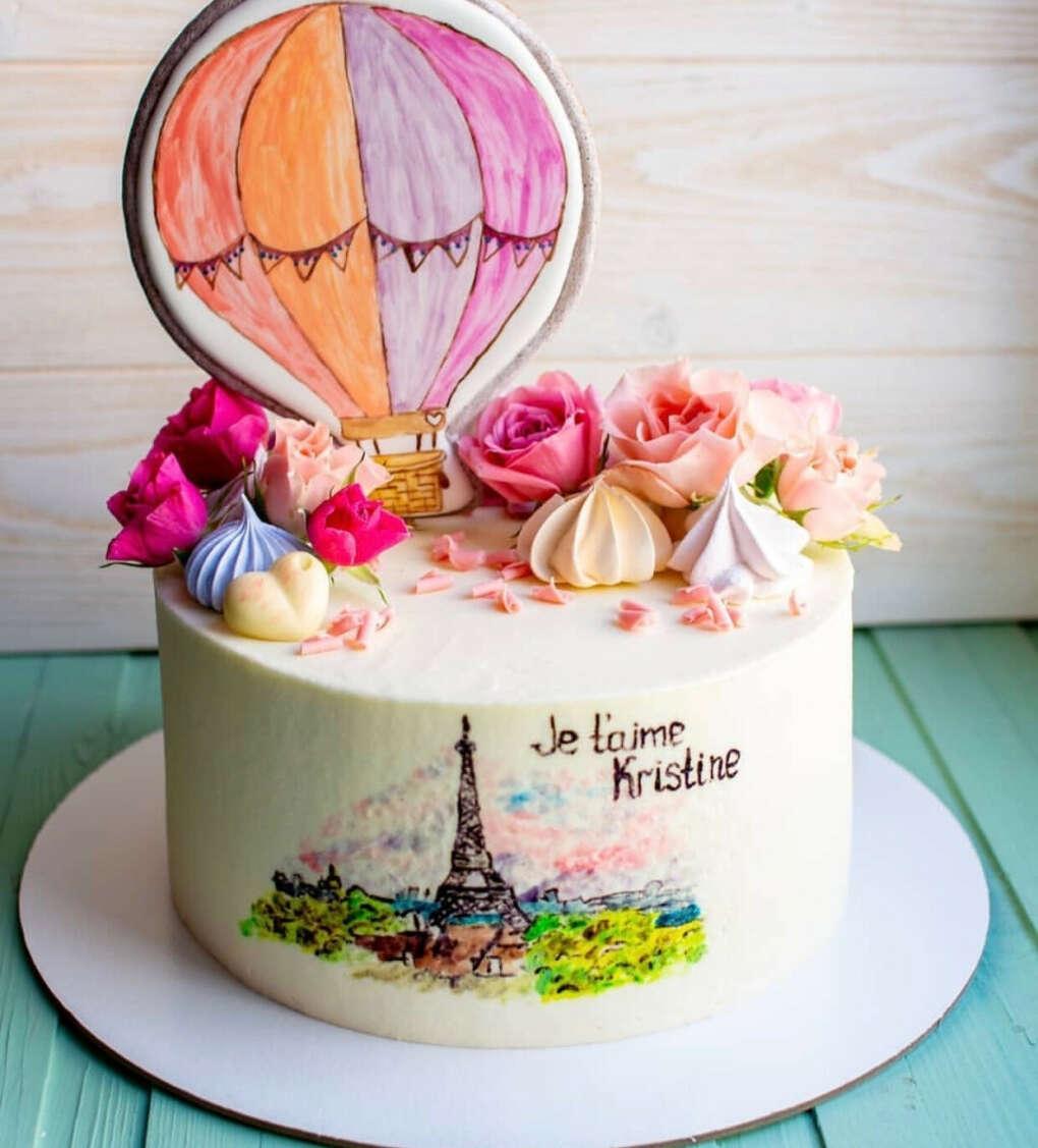 Именной торт