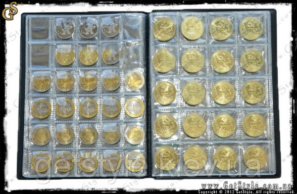 Альбом для монет OPTIMA в холдерах на 120 монет