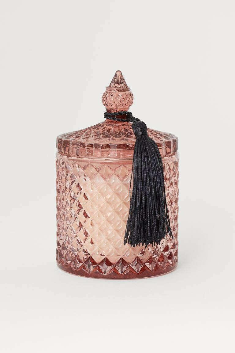 Ароматическая свеча в стекле H&M