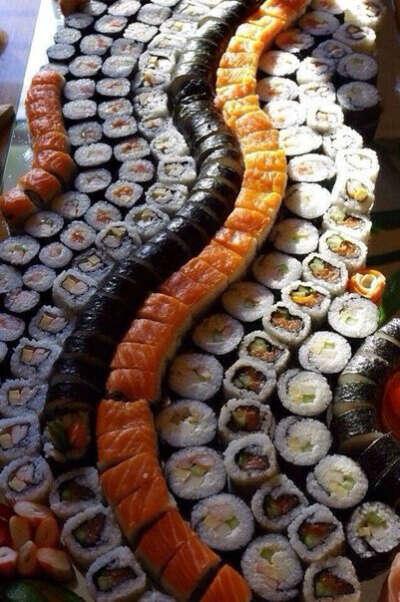 Хочу много суши..