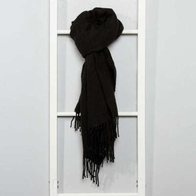 шарф черный