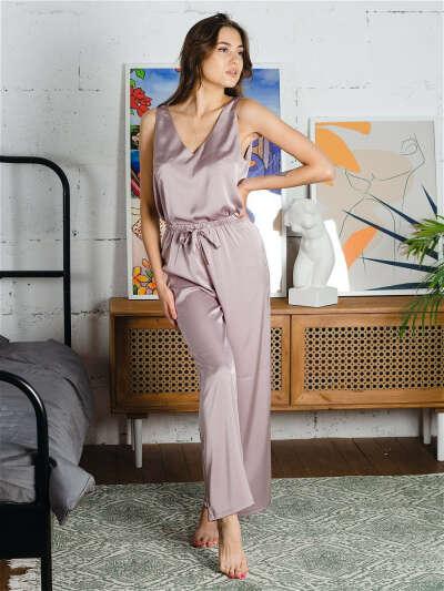 Пижама женская с брюками/шёлковая iLova wear 14368969 в интернет-магазине Wildberries