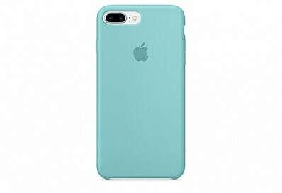 Чехол Apple Silicone Case для iPhone 7 Plus «синее море»