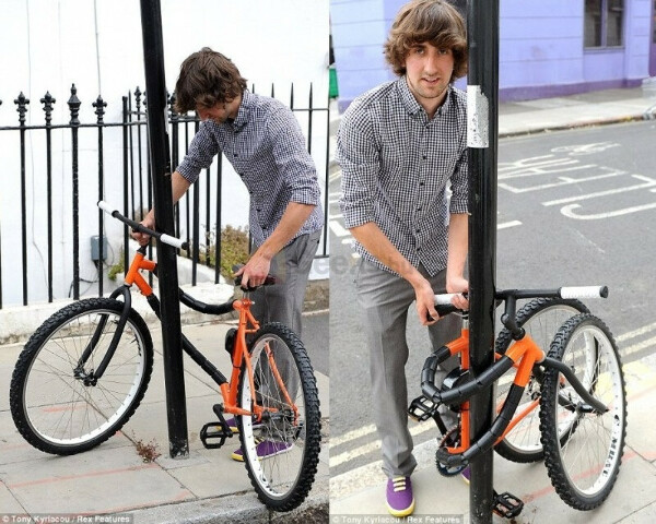 Велосипед-замок
