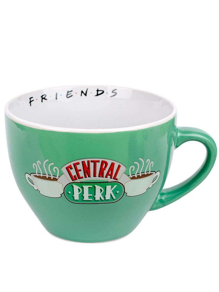 Кружка Friends (Central Perk Green)  Cappuccino
