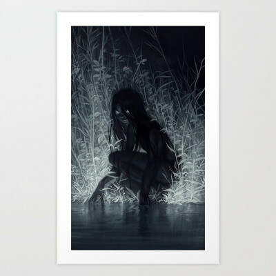 Nocturne Art Print by loish