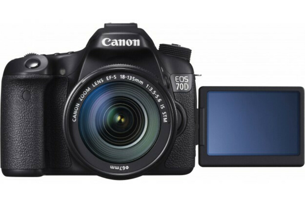 Фотоаппарат Canon EOS 70D(W) 18-135 IS STM Kit