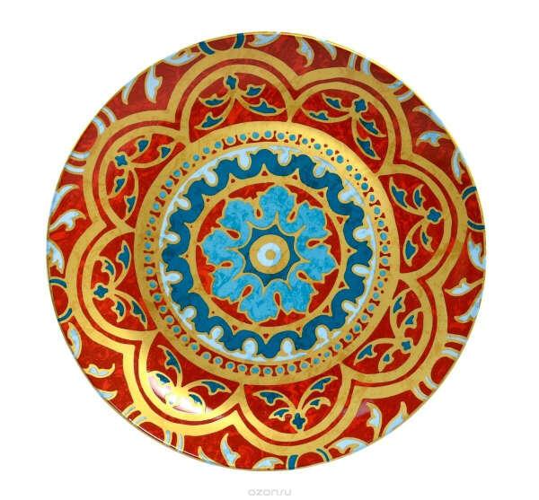 "Тарелка обеденная Utana ""Голден Палас"", диаметр 26,5 см"