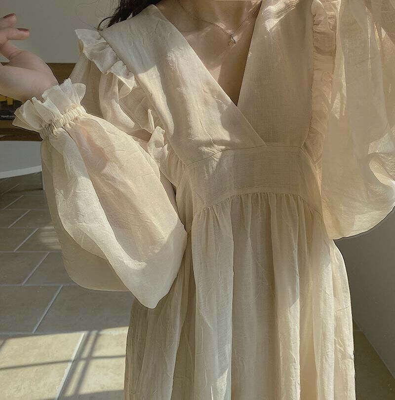 любое летящее платье
