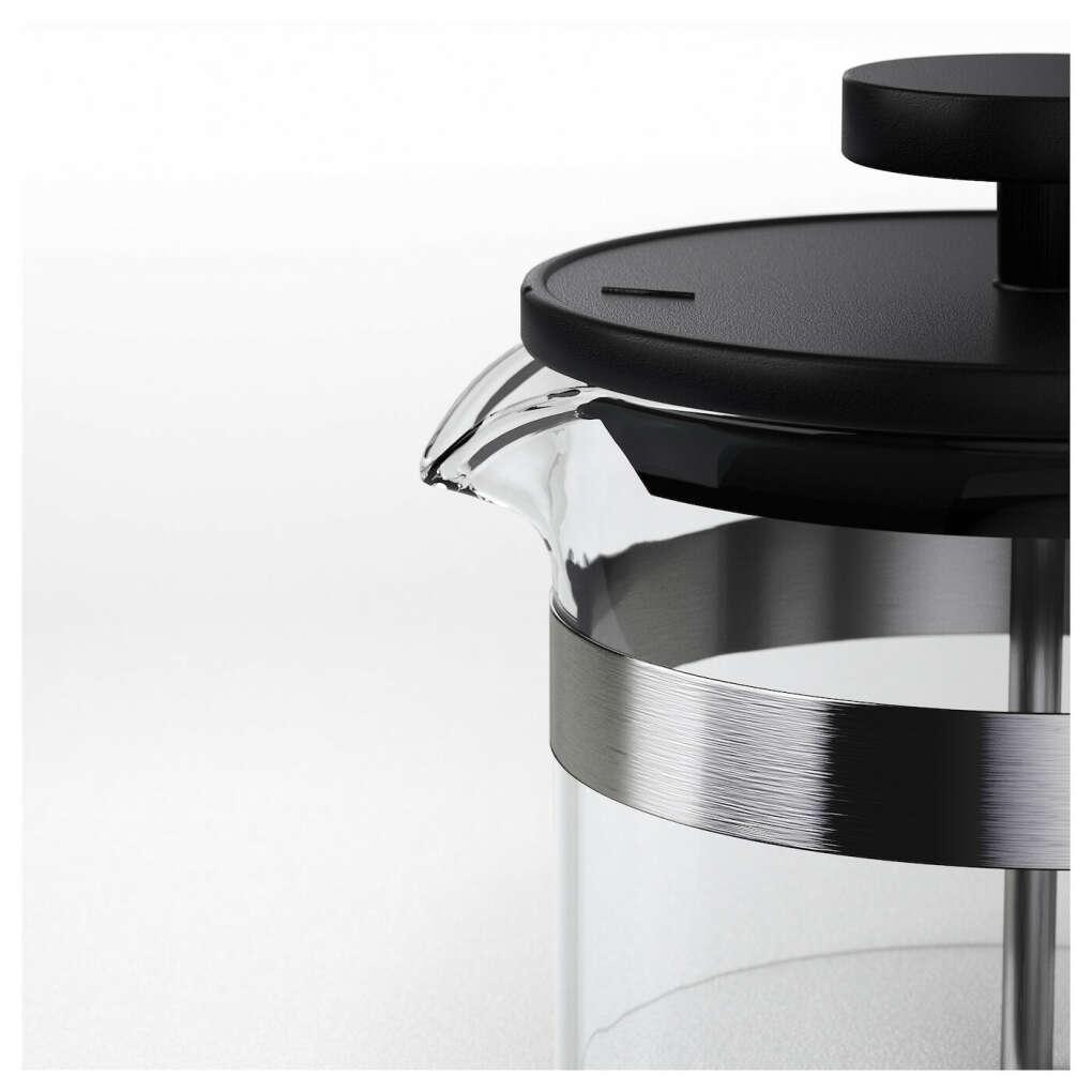 УПХЕТТА Кофе-пресс/заварочный чайник - стекло, нержавеющ сталь - IKEA
