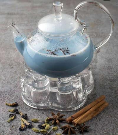 Чай голубой масала