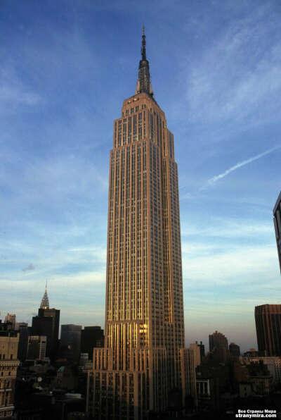Подняться на The Empire State Building