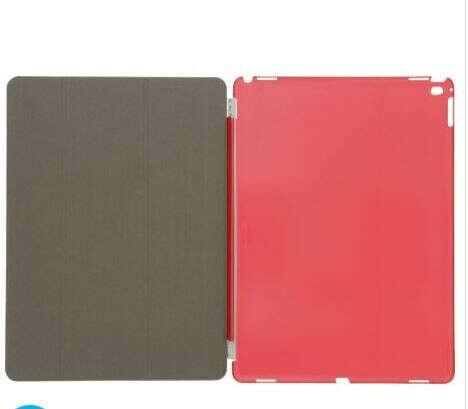 Sweex Funda para iPad Pro en color rojo, protección total, activación y reposo automático al abrir o cerrar la funda