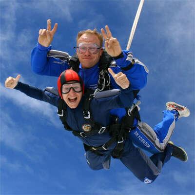 Прыжки с парашютом с фото и видео съемкой