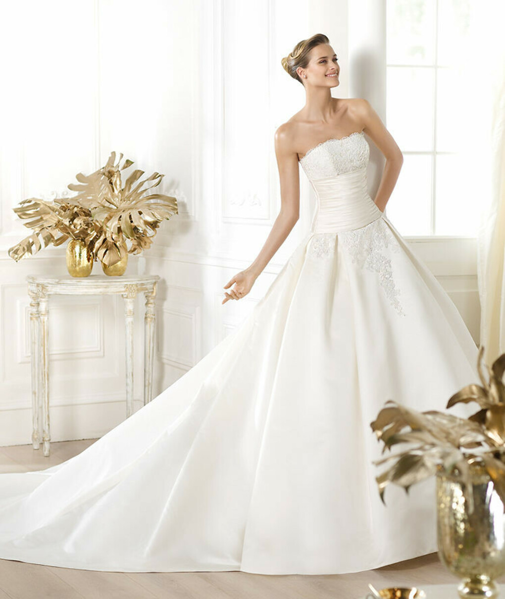 Laurain wedding dress by Pronovias