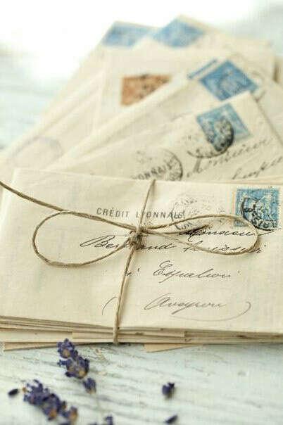 получить письмо написанное от руки