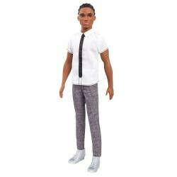 Кукла Барби (Barbie Ken Fashionistas Doll Classic Cool Doll) Кен в рубашке с галстуком - купить в Империи Кукол - Империи Kids