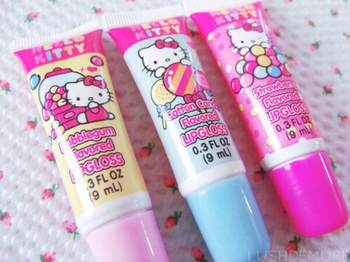 Блески для губ Hello Kitty