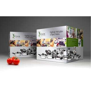 iCook™ Набор посуды Престиж, 27 предметов