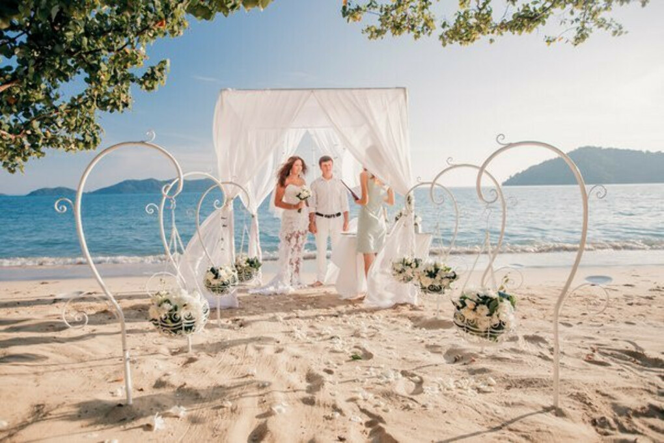Свадьбу на островах