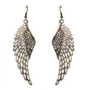 Серьги-крылья