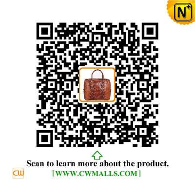 CWMALLS® Denver Mens Leather Business Briefcase CW907126