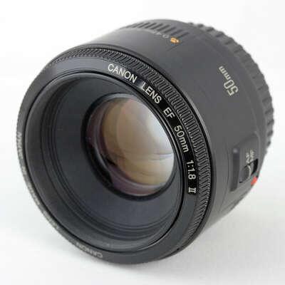 Canon 50 mm 1,8 II