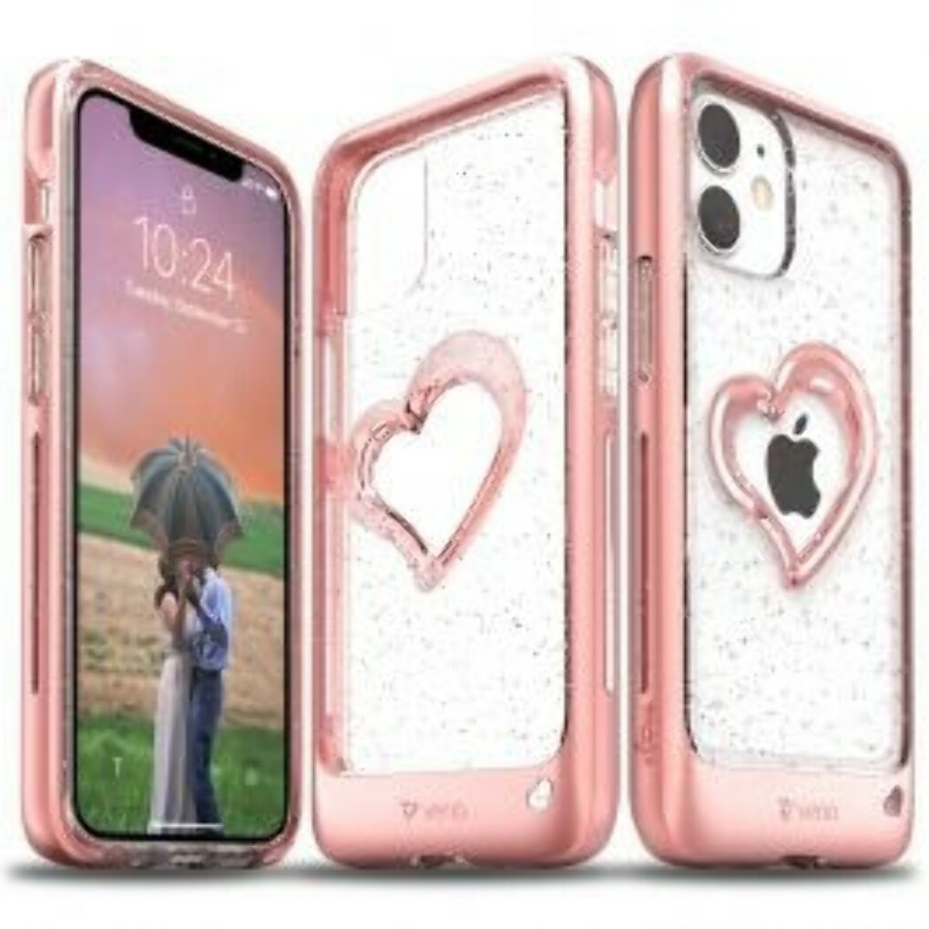 vLove iPhone 12 Mini Glitter Case
