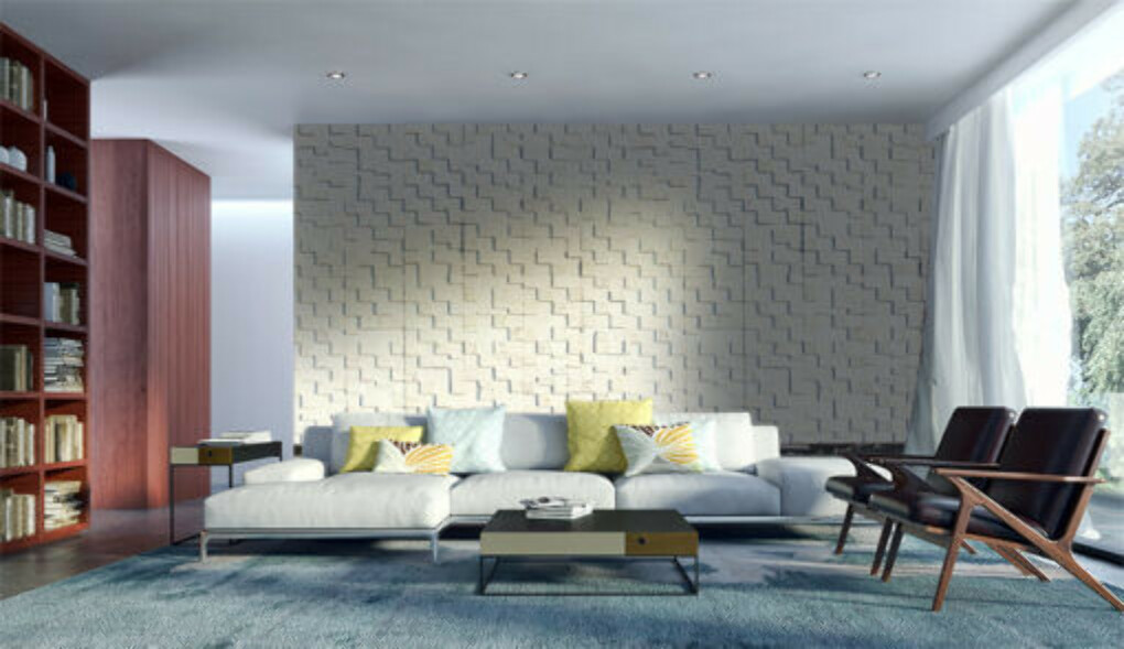 White Cubes Peel and Stick 33/64″ (13mm)  Cork Wall Tiles  (31.05 sq. ft. / case)
