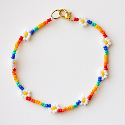 Jaya Bracelet in Rainbow Daisy