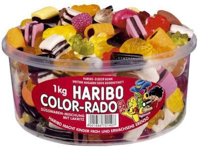 Haribo Color-Rado Dose 1кг)