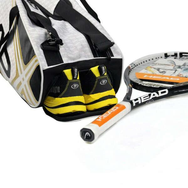 Оригинальная сумка для тенниса 3-6, теннисные ракетки, мужской рюкзак для тенниса, теннисный рюкзак для тенниса того же типа, рюкзак для ракеток с обувью, Compart Men t Спорт и развлечения     АлиЭкспресс
