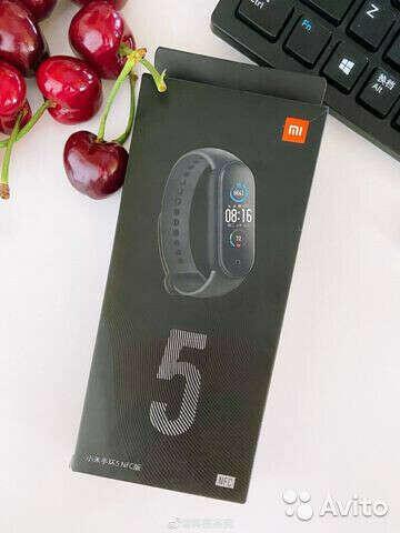 Xiaomi Mi Band 5 NFC  версия
