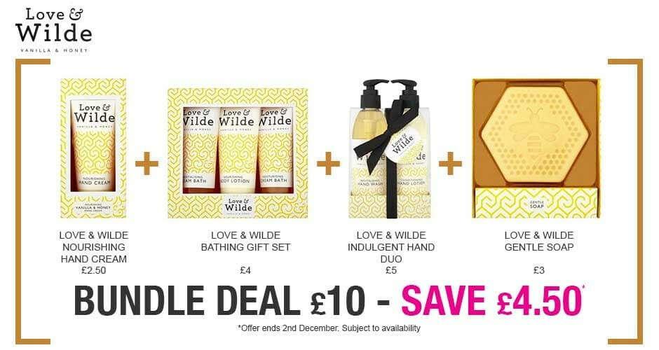 Love & Wilde Bundle | Superdrug