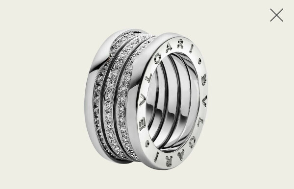 Bvlgari кольцо